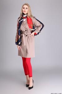 Płaszcz LUXURY BRANDS z tkaniny