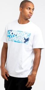 T-shirt Outsidewear z żakardu z krótkim rękawem