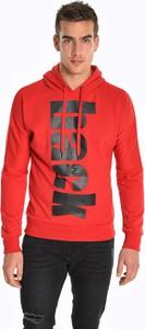 Czerwona bluza Gate z nadrukiem