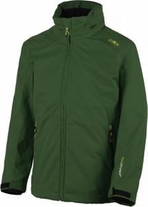Zielona kurtka dziecięca CMP z plaru
