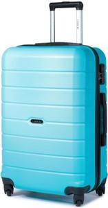 Niebieska walizka Lasocki