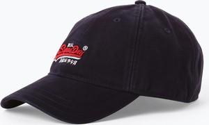 Granatowa czapka Superdry w sportowym stylu