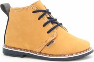 Buty dziecięce zimowe Wojas ze skóry