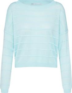 Miętowy sweter Only w stylu casual