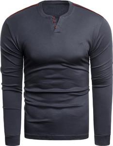 Granatowa bluza Risardi w stylu casual