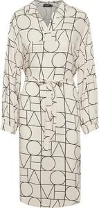 Sukienka Soaked in Luxury z długim rękawem koszulowa mini