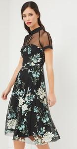 Sukienka Sandro Ferrone z krótkim rękawem