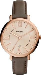 Zegarek FOSSIL - Jacqueline ES3707 Gray/Rose Gold