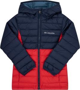 Zielona kurtka dziecięca Columbia dla chłopców