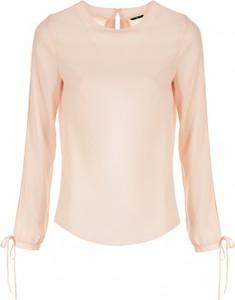 Różowa bluzka Nife w stylu casual