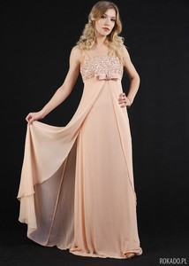 Różowa sukienka Rokado maxi