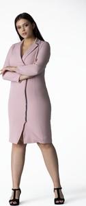 Sukienka Grandio szmizjerka z długim rękawem