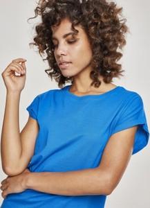 Bluzka Urban Classics z krótkim rękawem z bawełny w sportowym stylu