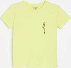 Koszulka dziecięca Reserved z bawełny z krótkim rękawem dla chłopców
