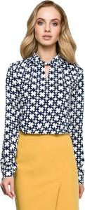 Bluzka Merg ze sznurowanym dekoltem
