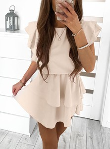 Sukienka Pakuten mini w stylu casual