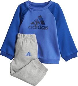 Dres dziecięcy Adidas w paseczki dla chłopców z plaru