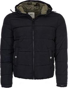 Czarna kurtka Q/s Designed By - S.oliver w stylu casual