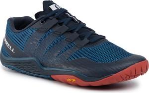 Niebieskie buty sportowe Merrell