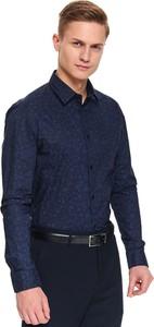 Koszula Top Secret z bawełny w stylu casual z klasycznym kołnierzykiem