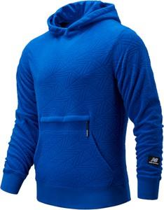 Niebieska bluza New Balance z plaru
