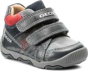 Buty dziecięce zimowe Geox dla chłopców na rzepy