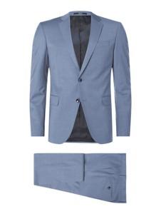 Niebieski garnitur Joop! z wełny