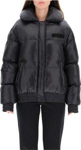 Czarna kurtka Moschino krótka
