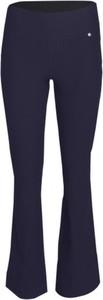 Niebieskie spodnie Look made with love z bawełny