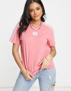 T-shirt Adidas Originals z krótkim rękawem z okrągłym dekoltem