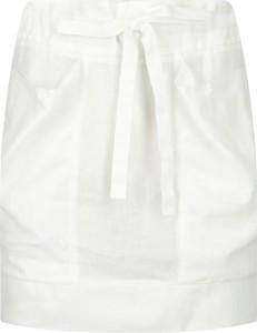 Spódnica Emporio Armani z lnu w stylu casual