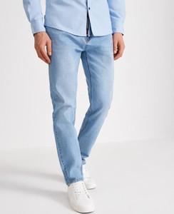 Niebieskie jeansy Diverse w stylu casual z jeansu