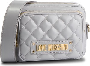 Srebrna torebka Love Moschino na ramię
