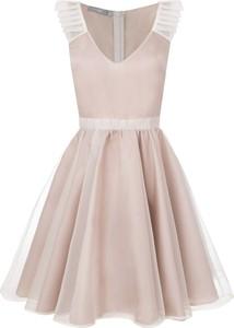 Sukienka Manifiq&Co. bez rękawów mini