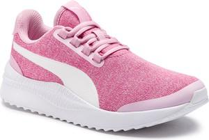 Buty sportowe Puma z płaską podeszwą sznurowane w sportowym stylu