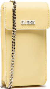 Żółta torebka Guess