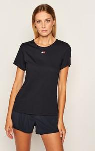 T-shirt Tommy Sport z okrągłym dekoltem