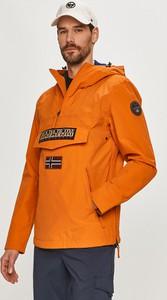 Pomarańczowa kurtka Napapijri w sportowym stylu