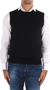 Czarny sweter La Fileria