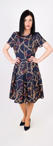 Sukienka Sklepfilloo midi z krótkim rękawem