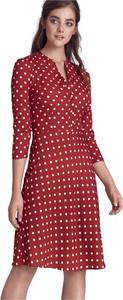Sukienka Nife mini w stylu casual z dekoltem w kształcie litery v