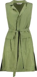 Zielona kamizelka Ulla Popken w stylu casual