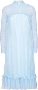 Sukienka bonprix BODYFLIRT boutique midi z długim rękawem w stylu casual