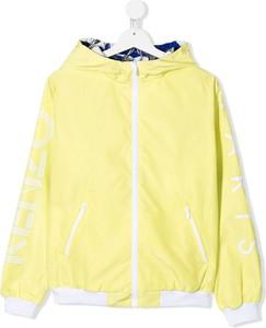 Żółta kurtka dziecięca Kenzo Kids