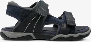 Czarne buty dziecięce letnie Timberland na rzepy