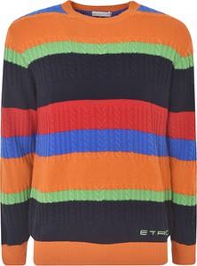 Pomarańczowy sweter Etro