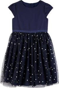 Sukienka dziewczęca OshKosh z bawełny w groszki