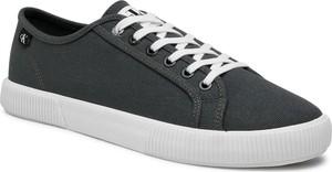 Tenisówki CALVIN KLEIN JEANS - Vulcanized Sneaker Laceup Co YM0YM00068 Dark Olive LEX