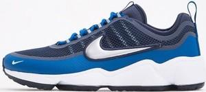Niebieskie buty sportowe Nike zoom sznurowane