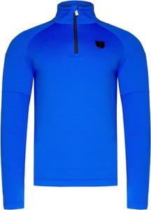 Niebieska bluza Toni Sailer z tkaniny